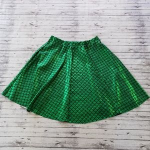 Halloween Costume Mermaid Skirt Scales Small